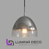 """OM"" Pendant lamp Lumina Deco Arteni chrome"