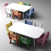 Nursery and kindergarten tables