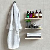 Bath robe set
