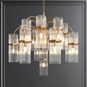Crystall grape chandelier