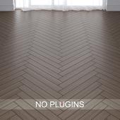 Grey Oak Wood Parquet Floor Tiles vol.010 in 2 types