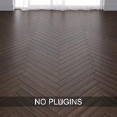 Walnut Wood Parquet Floor Tiles vol.009 in 2 types