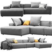 Rolf Benz Freistil 175 corner sofas