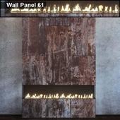 Wall Panel 61. Fireplace