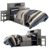 Pottery Barn teen_Beadboard Storage Bed