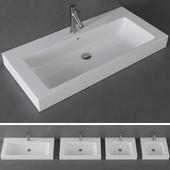 KOLO MODO washbasin series \ AXOR Starck mixer