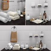 Decorative set for a bathroom set 36