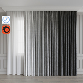 A set of curtains 9. Gray gamma