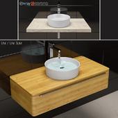 Wash basin RAVAK Uni / Uni Slim