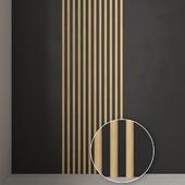 Reiki wooden semicircular