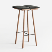 Counter Stool Natural Oak