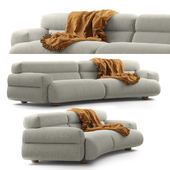 Jardan Valley Sofa Curved