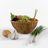 vegetable set