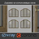 Wood - aluminum windows, view 04 part 03 set 10
