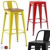 Tolix stools