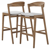 RH Anders Fabric Barstool