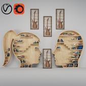 Book shelf and Guitar Frame