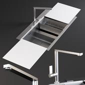 Sink Linea Mixer Smeg