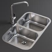 Sink Alba Mixer Smeg