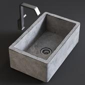 Sink Farmhouse Mixer Quadrodesign