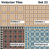 Topcer Victorian Tiles Set 22