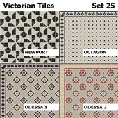 Topcer Victorian Tiles Set 25