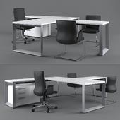 Codutti Avito Executive Desk