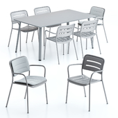 Kettal Village Table and Chair