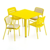 Kettal Village Table and Chair 2