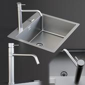 Sink Mira Mixer Inox
