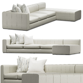 EJVictor Milano Sectional Sofa