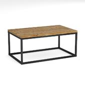 Журнальный столик в стиле лофт / loft coffee table