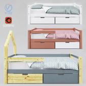 Children's bed SKOGEN