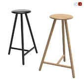 NIKARI Linea Perch Bar Stool