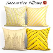Decorative pillows set 373 Etsy