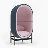 Capsule Armchair 1 Seater By Palau (Casala)