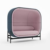 Сapsule Sofa 2-Seater By Palau (Casala)