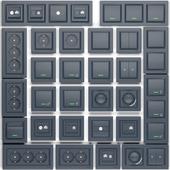 Розетки и выключатели Schneider Electric серии Asura