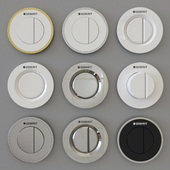 GEBERIT flush buttons