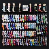 Socks wall