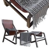 BLU DOT Toro Lounge Chair | Ottoman