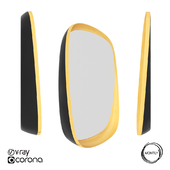 OM wall mirror SQUE by Montly