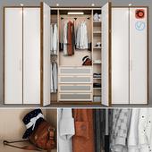 Wardrobe - wall closet