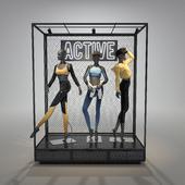 Sportswear female mannequin