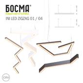 ini,led,zigzag 01, 04 / BOSMA