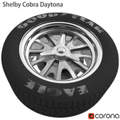Shelby Daytona Cobra Wheel