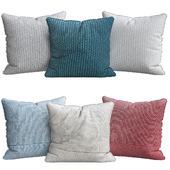 Cotton Knit Pillow Cover