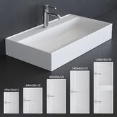 Alice Ceramica Hide Washbasin Set 1