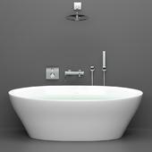 Акриловая ванна BelBagno BB68-1800