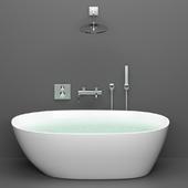 Акриловая ванна BelBagno BB80-1700 + GROHE